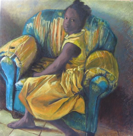 le canapé bleu