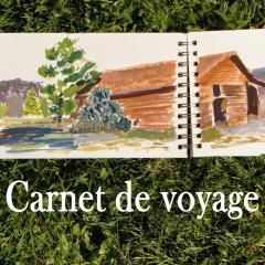 Bouton carnet de voyage