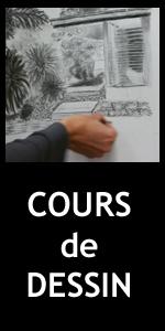 Bouton cours de dessin