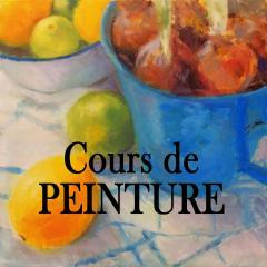 Bouton cours peinture