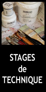 Bouton stages de technique