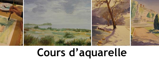 Entete cours d aquarelle