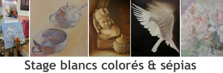 Entete stage blancs colores