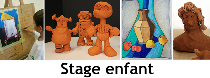 Entete stage enfant