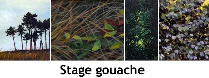 Entete stage gouache